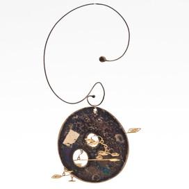 Silber, 750/000-er Gold, Mobile, Einzelstück