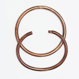 2 Armreifen Kupfer (Armspange hilft bei Rheuma oder Osteoporose)