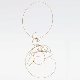 750/000-er Gold, Perlen, Einzelstück